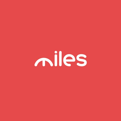 Logo concept for Miles car rental