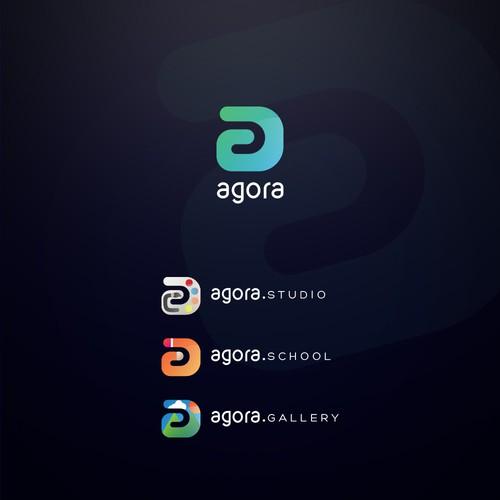 Logo design for Agora