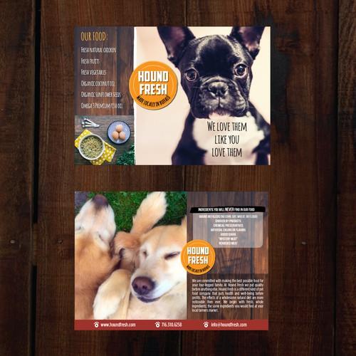 Postcard for Dog Food Manufacturer