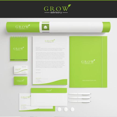 Create a Brand Identity for Grow Advisory