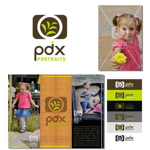 logo for PDX Portraits