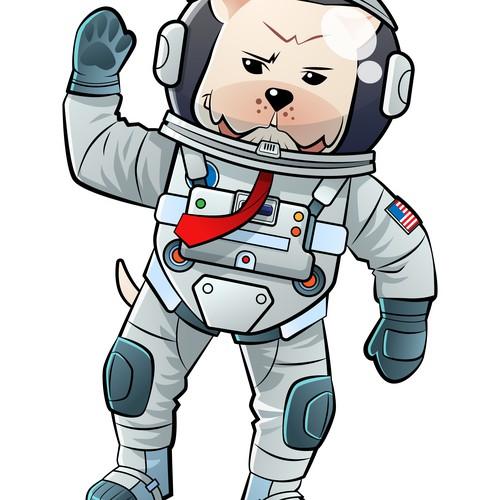 Dogo astronaut suit