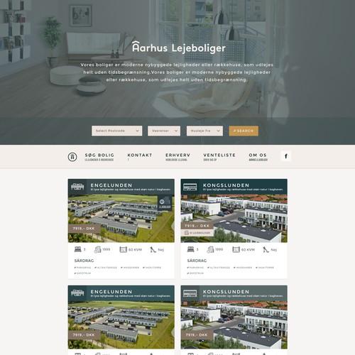 Web Design for Real Estate Giant