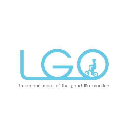 LGO logo design