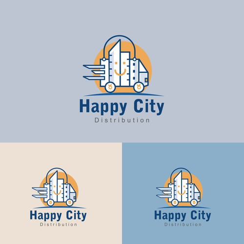 Happy City Distribution
