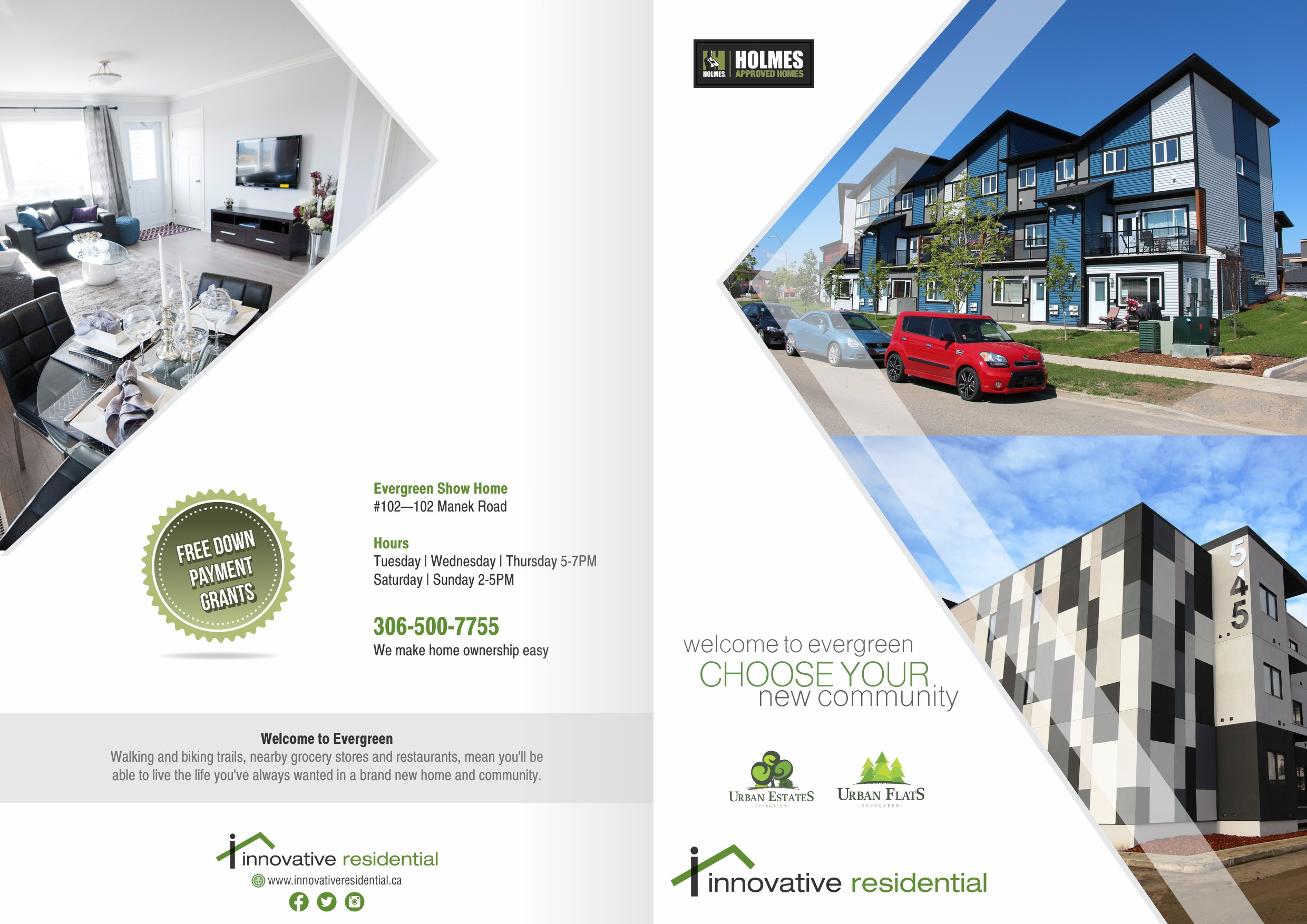 The BEST New Homes Brochure Ever! Hey Designer, YOU CAN DO IT!