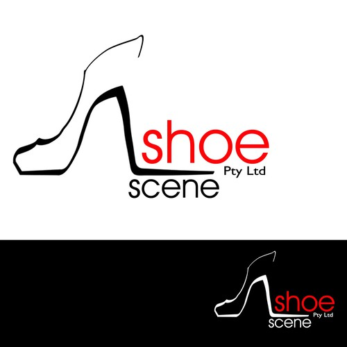 Stylish Logo for Ladies fashion footwear wholesale business