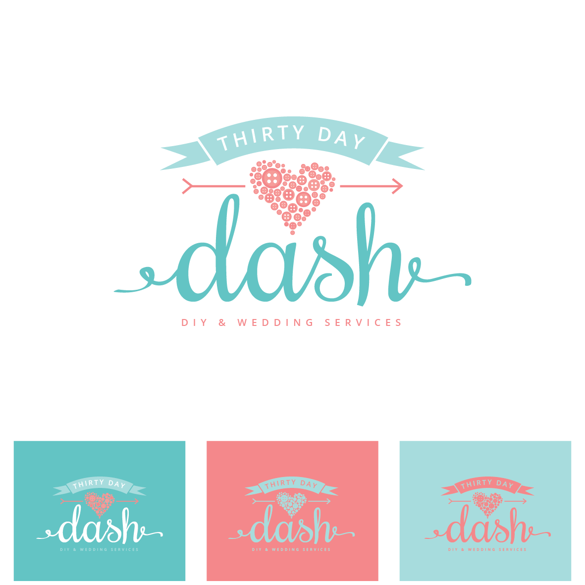 Create a creative, craft and/or wedding inspired logo for Thirty Day Dash