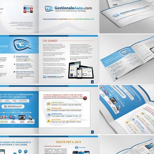 NEW brochure design for GestionaleAuto.com Srl (http://www.gestionaleauto.com)