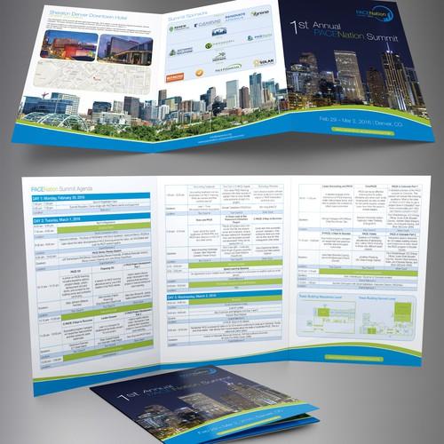 PaceNation Summit brochure with agenda