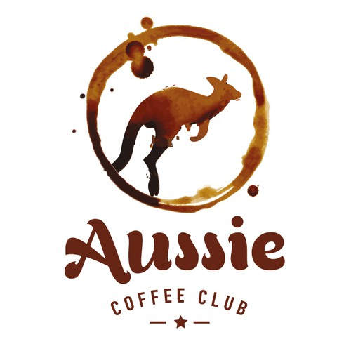 Create a standout logo for a new Aussie coffee bar that is launching in America.