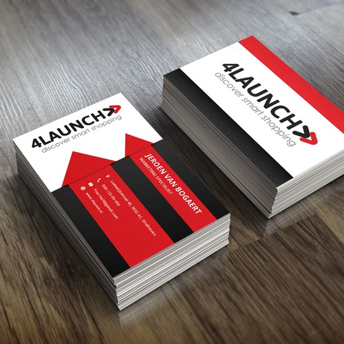 Business card for 4Launch!