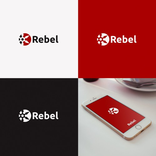 Rebel logo design