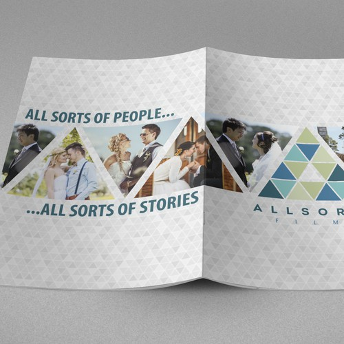 Create a Booklet for Allsorts Films - additional work required after competition for winner