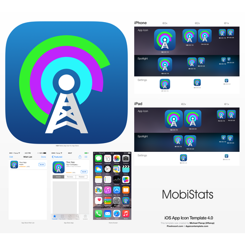 Icon for MobiStats