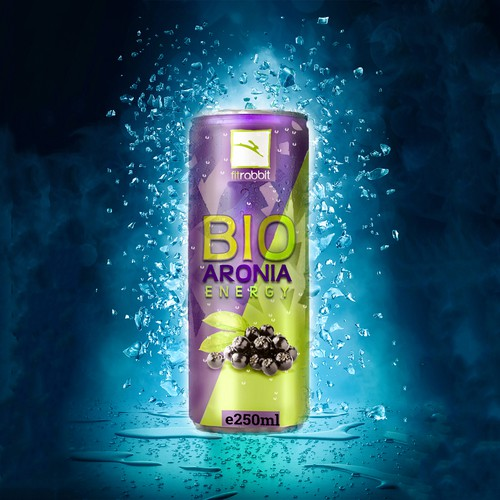 Can design for energy drink