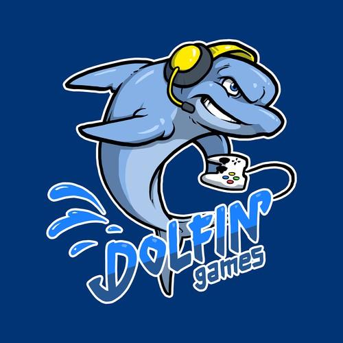 Dolfin Games Logo