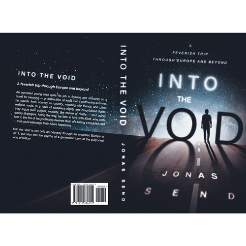 "Book cover ""Into the Void"""