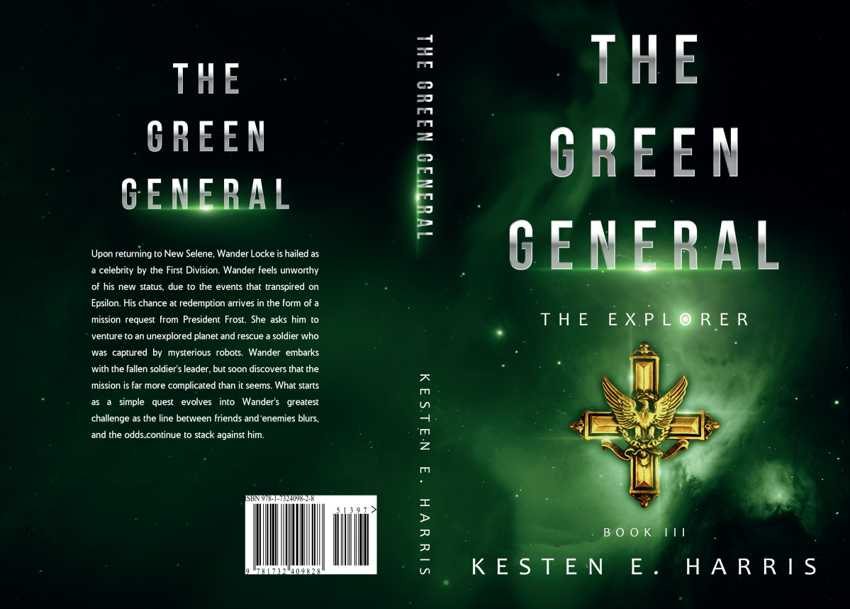 Book Cover for The Green General (Third The Explorer novel)