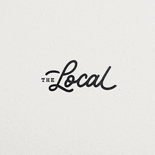 Minimal logo for a restaurant