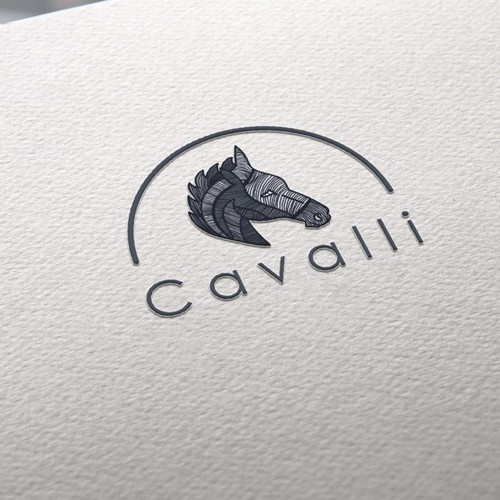Logo for men's clothing