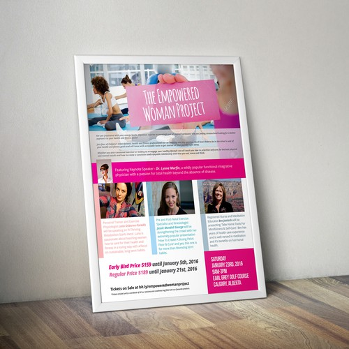 Seminar poster design