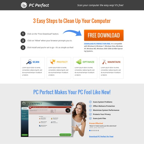 Software Product Page
