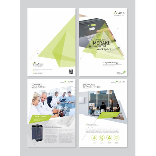 eBrochure for technology company