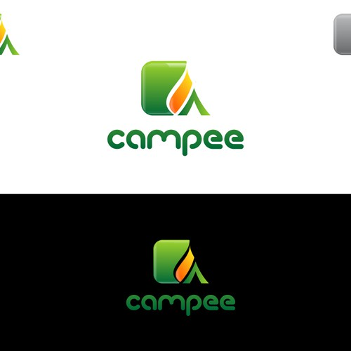Campee an outdoor recreation community app & website needs a Logo Design