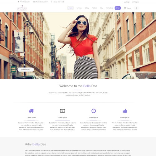 Bella Dea Web Design
