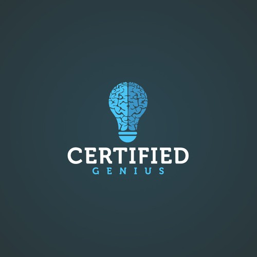 Creative logo for Certified Genius