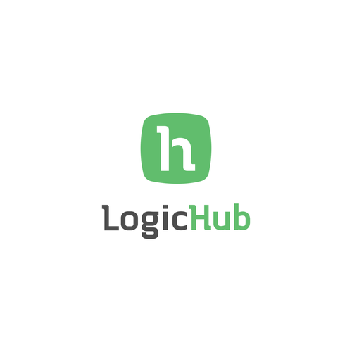 Combination logo concept for LogicHub