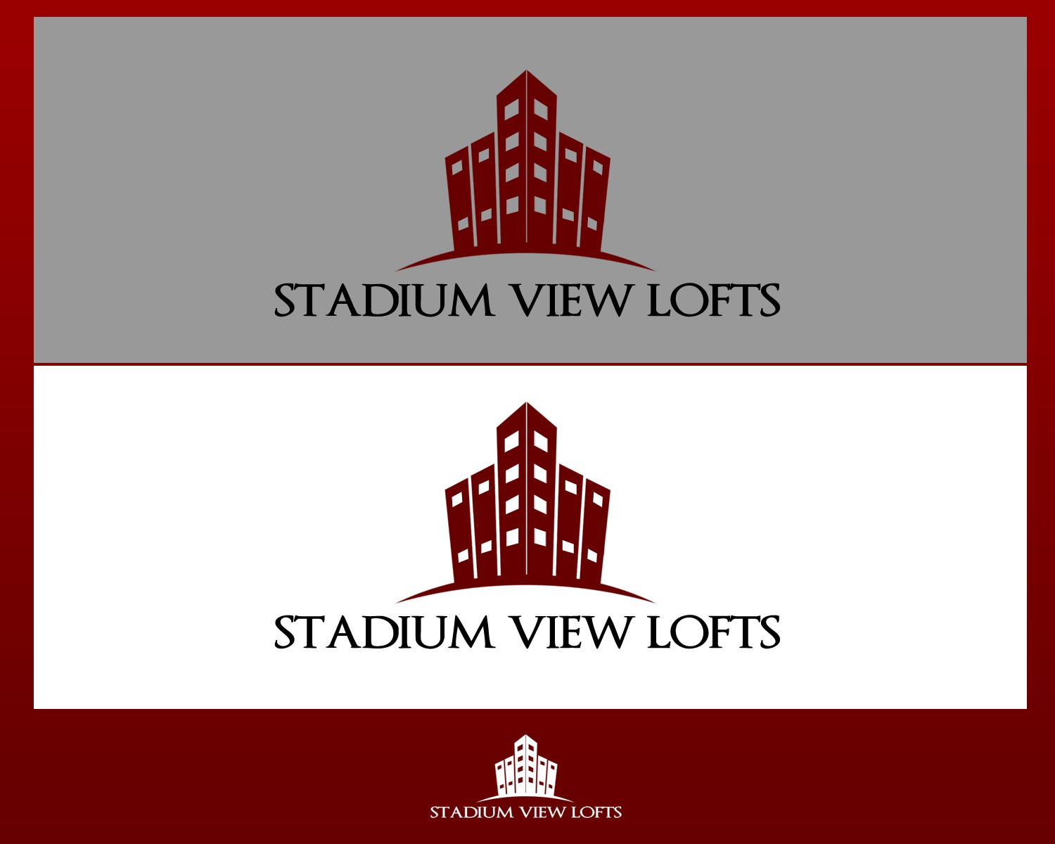 Help Stadium View Lofts with a new logo