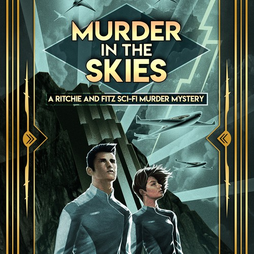 Cover Illustration and Design for Murder in the Skies (Kate MacLeod)