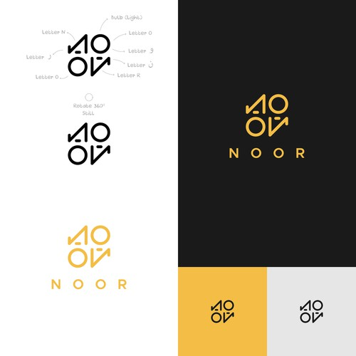 Abstract logo design concept.