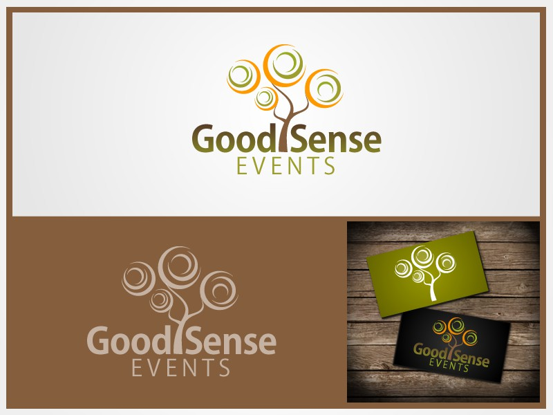 Good Sense Events needs a new logo
