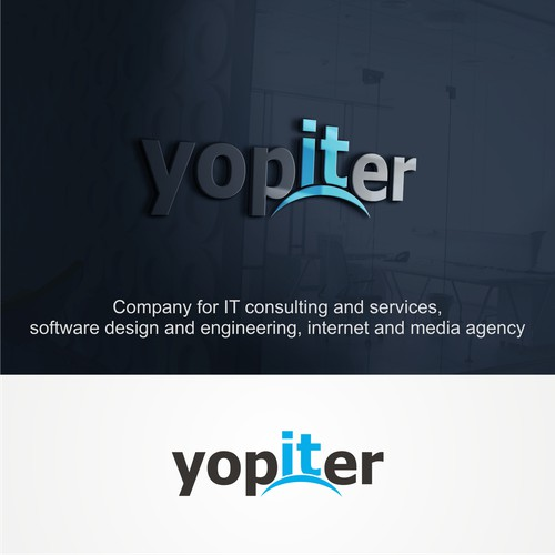 It Design with Jupiter planet