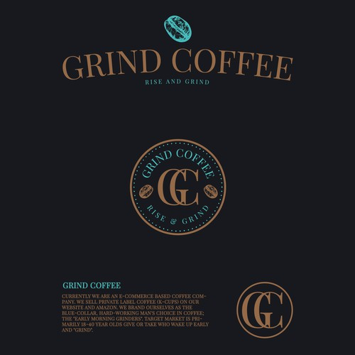 Grind Coffee Logo Design