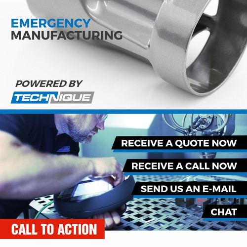 Emergency manufacturing - website design