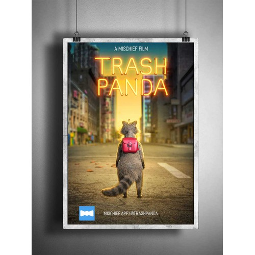 Trash Panda Movie Poster