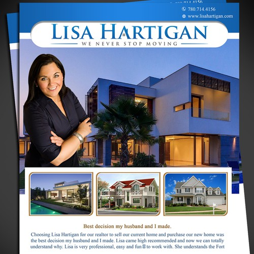 Design a great real estate brochure