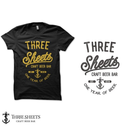 T-shirt anniversary .