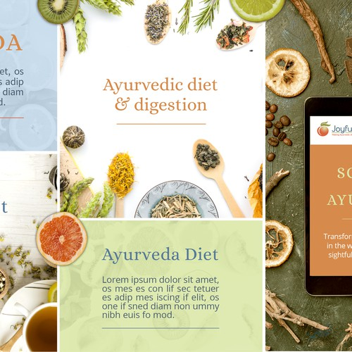 Ayurveda Stylescape for Brand Guide