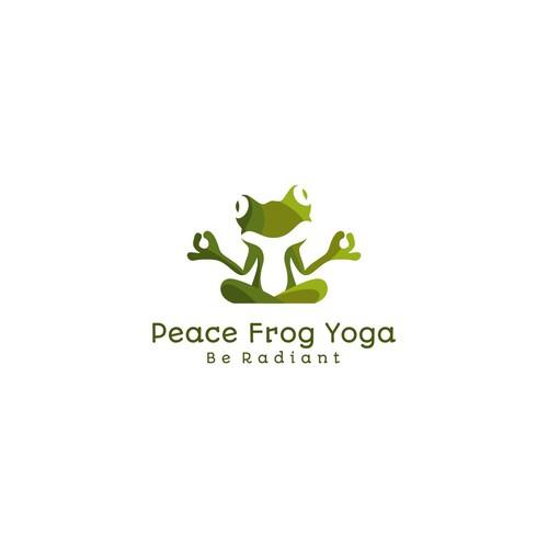 Logo for yoga studio