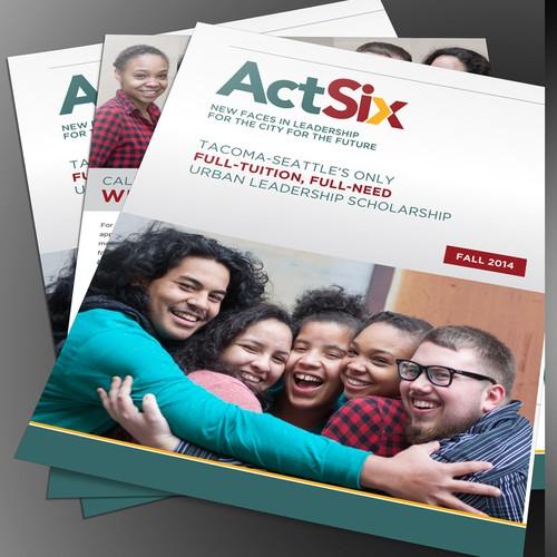 Refresh Brochure for Full-Ride Urban Leadership College Scholarship Program