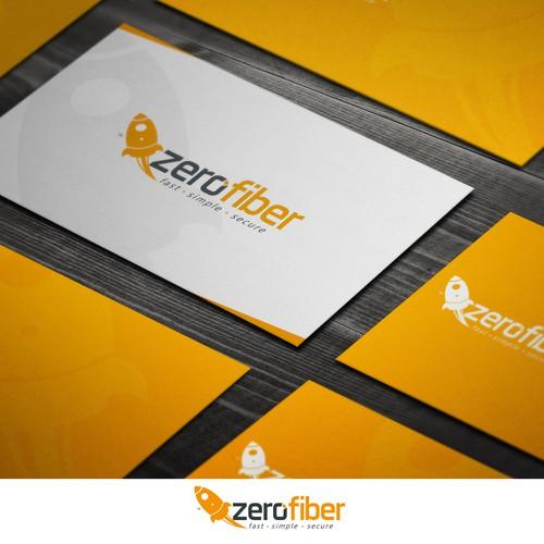 Awesome Logo, Web Startup ZeroFiber!!