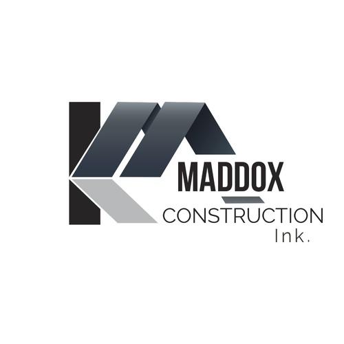 Brand logo concept for KA Maddox Construction