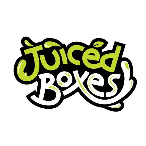 Juiced Boxes Wordmark Logo