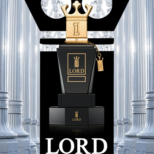 Elegant Poster for LORD Luxury Perfume