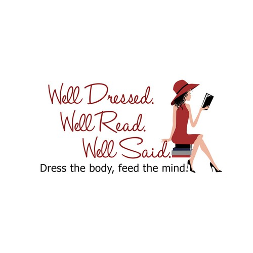 Logo for Well Dressed. Well Read. Well Said.